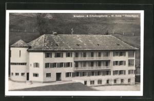 AK Unterärgeri, Kranken- und Erholungsheim St. Anna