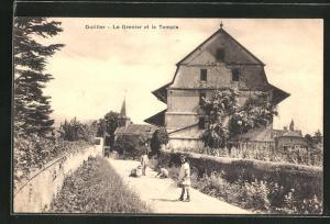 AK Duillier, Le Grenier et le Temple