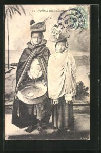 AK Petites mendiantes, arabische Bettlerskinder