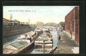 AK Buffalo, NY, Head of Erie Canal
