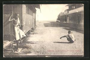 AK Djibouti, La gare du Harrar