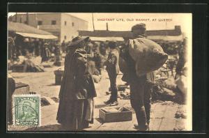 AK Quebec, Habitant Life, Old Market