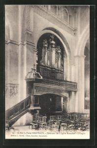 AK St. Paul-Trois Chateaux, L` Orgue, Orgel