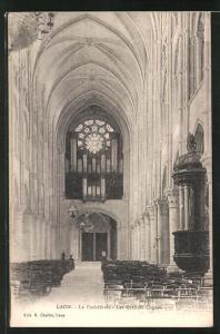 AK Laon, La Cathèdrale - Les Grandes Orgues, Orgel
