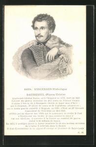 AK Vincennes historique, Daumesnil, Pierre-Vrieix, französ. Heerführer