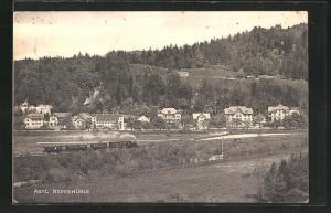 AK Zell, Asyl Remismühle und Bahnstrecke