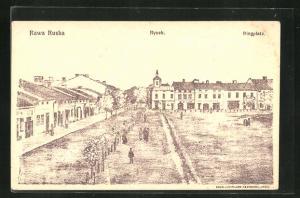 AK Rawa Ruska, Rynek, Ringplatz