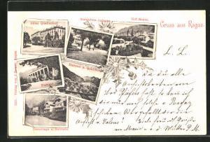AK Ragaz, Hotel Quellenhof, Kurgarten, Hof Ragaz, Kursaal