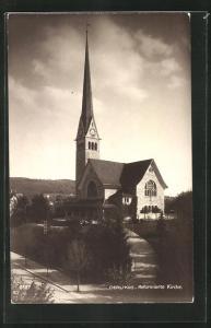 AK Oerlikon, Partie an der Reformierten Kirche