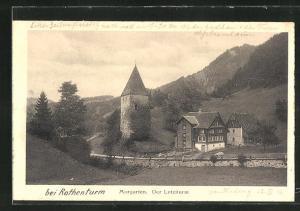 AK St. Alban, Morgarten, Letziturm