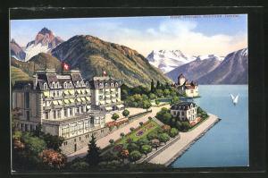 AK Territet, Hotel Bonivaro, les Alpes