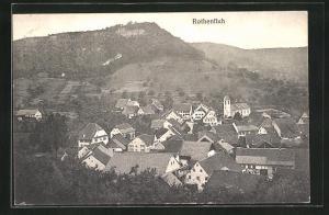 AK Rotenfluh, Gesamtansicht des Ortes