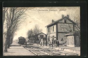 AK Warmeriville, Bahnhof
