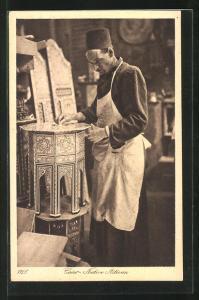 AK Cairo, Native Artisan, arabischer Handwerker