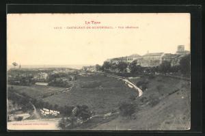 AK Castelnau-de-Montmirail, Vue generale