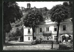 AK Spitz a. d. Donau, Gasthof - Pension Haus Prankl