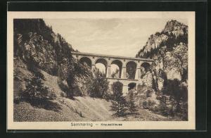 AK Semmering, Krauselklause, Viadukt