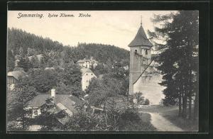 AK Semmering, Kirche und Ruine Klamm