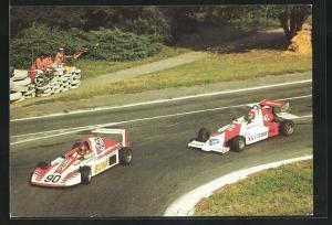 AK Schleiz, Schleizer Dreieck-Rennen, Rennwagen in der Haarnadelkurve