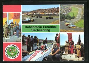 AK Hohenstein-Ernstthal, Autorennen auf dem Sachsenring, Sieger Spezialtourenwagen A 21 bis 600 ccm
