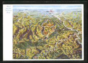 AK Rund um den Nürburg-Ring, Landkarte