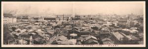 Klapp-AK Yokohama, General View of the City, Blick über die Dächer der Stadt