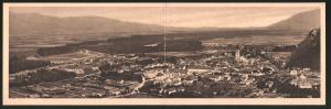 Klapp-AK Judenburg, Blick auf den Ort und ins Land