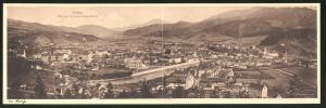 Klapp-AK Leoben, Blick von der Kroisleithner-Warte auf die Ortschaft