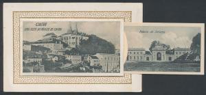 Leporello-AK Cintra, Uma Vista do Palacio, Castello da Pena