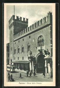 AK Ferrara, Torre della Vittoria, Strassenbahn