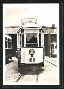 AK Halle, 100 Jahre Strassenbahn 1982, Triebwagen Nr. 180