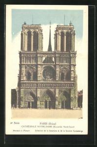 AK Paris, Cathédrale Notre-Dame, Ensemble Nord-Ouest