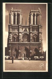 AK Paris, Cathédrale Notre-Dame