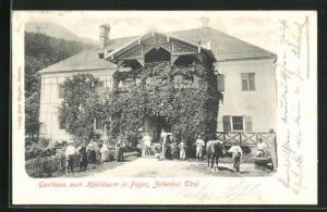 AK Fügen, Gasthaus zum Haklthurm
