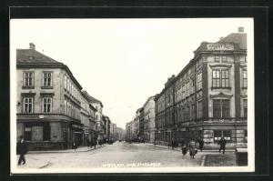 AK Wien, Gablenzgasse mit Passanten