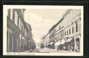 AK Wien, Blick in die Neulerchenfelderstrasse