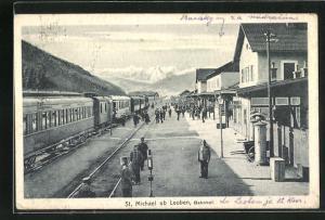 AK St. Michael ob Leoben, Bahnhof
