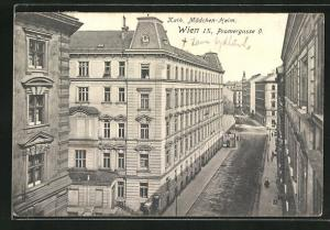 AK Wien, Kath. Mädchen-Heim, Pramergasse 9.