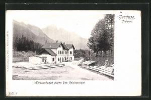 AK Gstatterboden, Bahnhof, Gesäuse