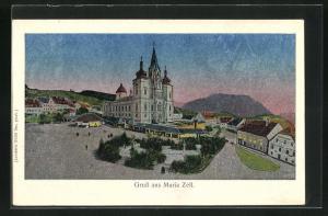 Luna-AK Maria Zell, Basilika
