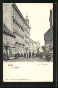AK Wien, Partie in der Kandlgasse