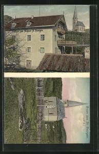 AK St. Georgen, Gasthaus zum Messner