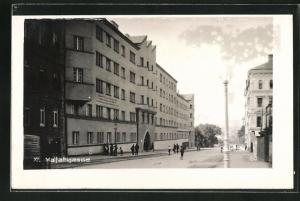 Foto-AK Wien, Blick in die Malfattigasse