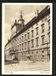 AK Breslau, 12. Deutsches Sängerbundesfest 1937, Universität, Ganzsache PP127 C30 /06