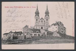 AK Linz a. Donau, Pöstlingberg mit Wallfahrtskirche