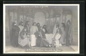 AK La Passion à St. Louis de Grenoble, II. Marie Madeleine aux pieds de Jésus, Passionsspiele