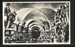 AK Palermo, Ex Convento dei Cappuccini, Skelette und Särge, Tod