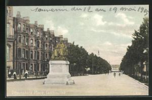 AK Eastbourne, Devonshire Place, Denkmal