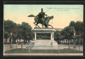 AK Torino, Monumento al Principe Ferdinando, Duca di Genova