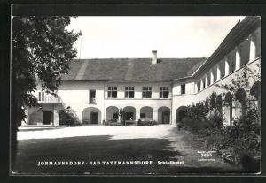 AK Bad Tatzmannsdorf, Jormannsdorf, Schlosshotel